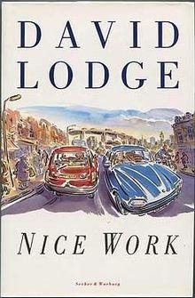 David Lodge Nice Work cover