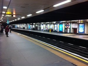 The real St James's Park station