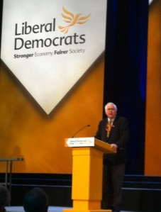 Sir Bob Russell MP drums up support for first aid in schools
