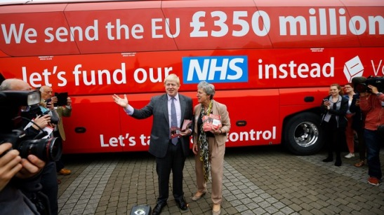 Lost your bus, Boris and Gisela? It's behind you!