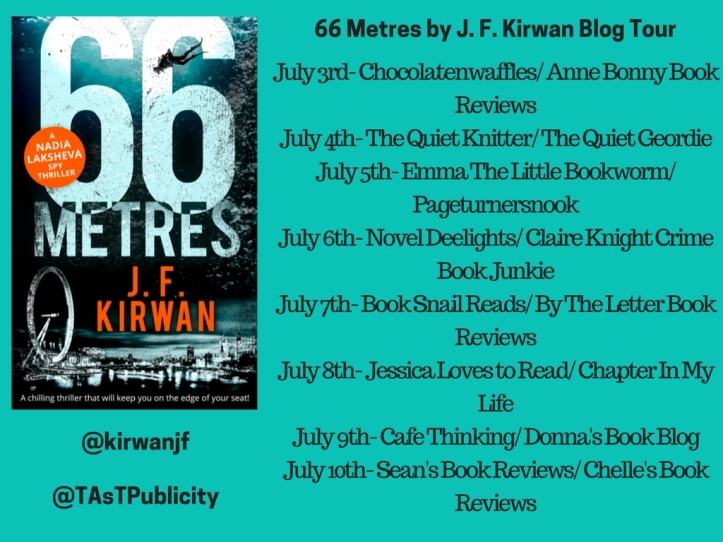 66 Metres by J. F. Kirwan Blog Tour