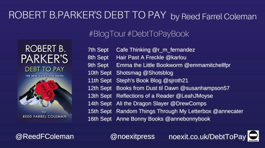 Debt to Pay Blog Tour Poster