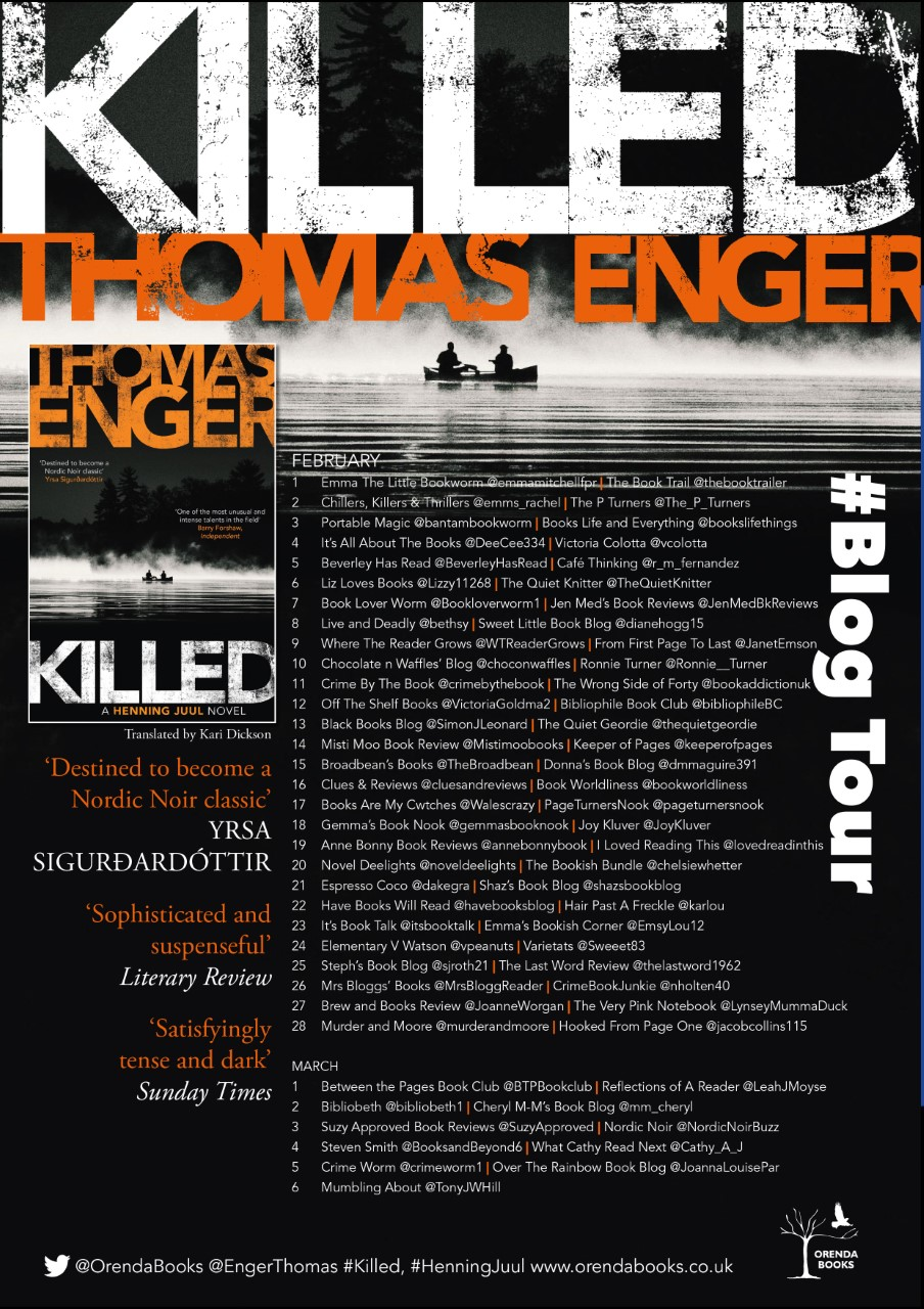 Killed, by Thomas Enger – book review | Cafe thinking