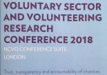 NCVO VSSN research conference