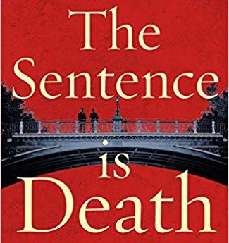 Sentence is Death - part of front cover