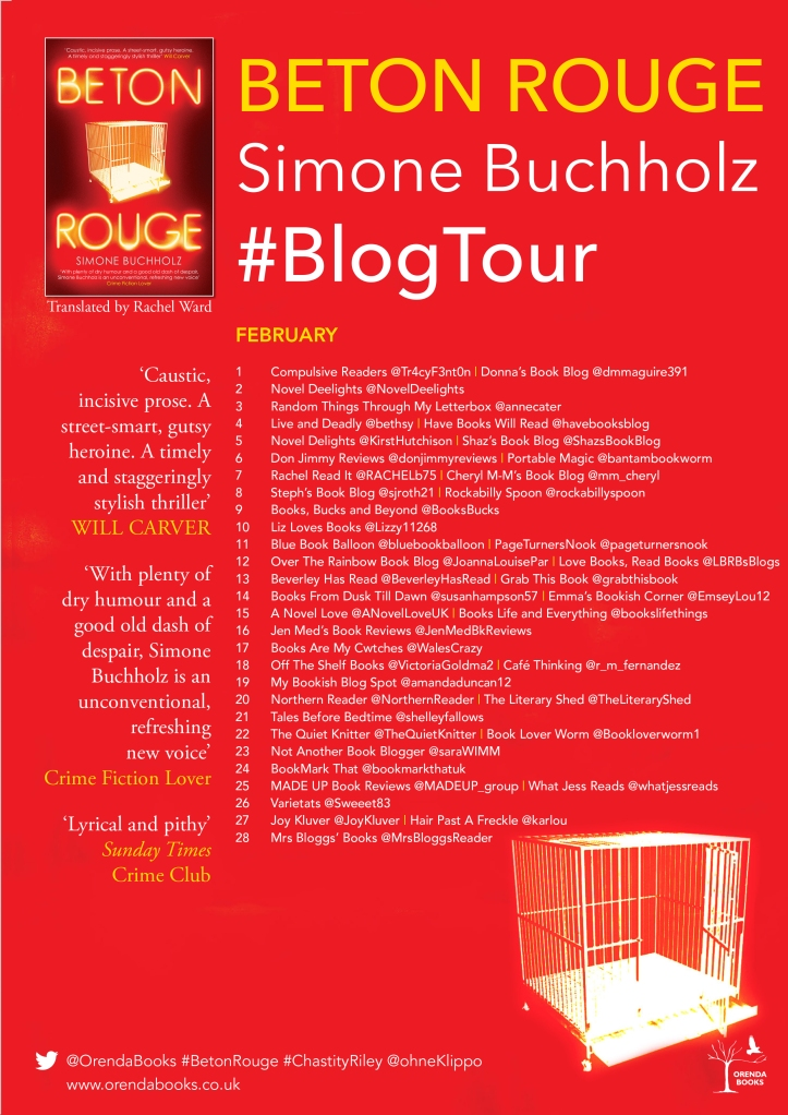Beton Rouge blog tour poster