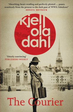 The Courier by Kjell Ola Dahl - cover