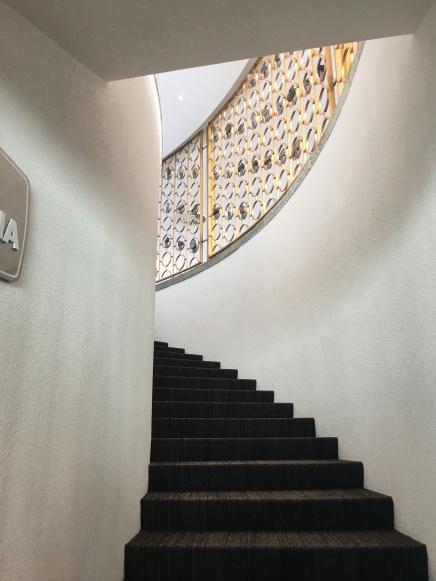 Piz Gloria staircase