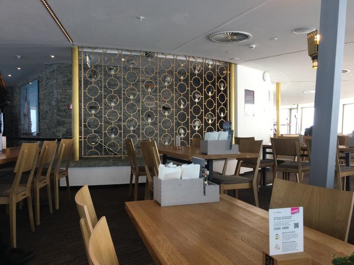 Revolving restaurant at Piz Gloria