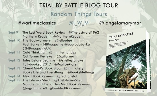 Trial by Battle blog tour poster