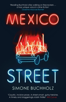 Cover of Mexico Street by Simone Buchholz