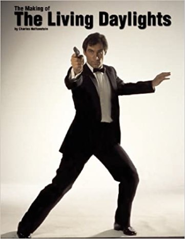 The cover of the Making of the Living Daylights by Charles Helfenstein