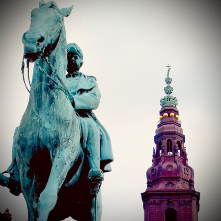 Equestrian statue of Christian IX in Copenhagen
