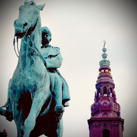 Equestrian statue of Christian IX in Copenhagen