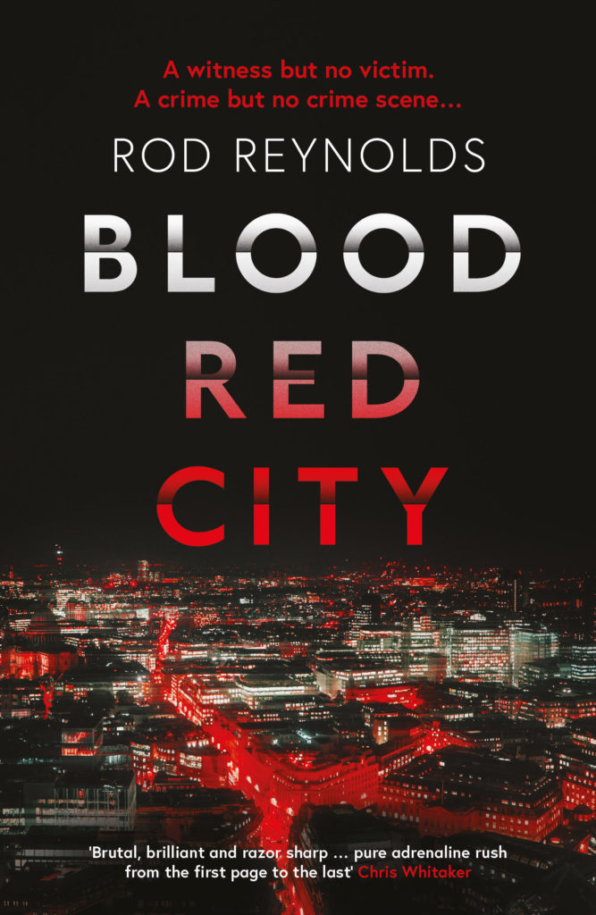 Cover of Blood Red City