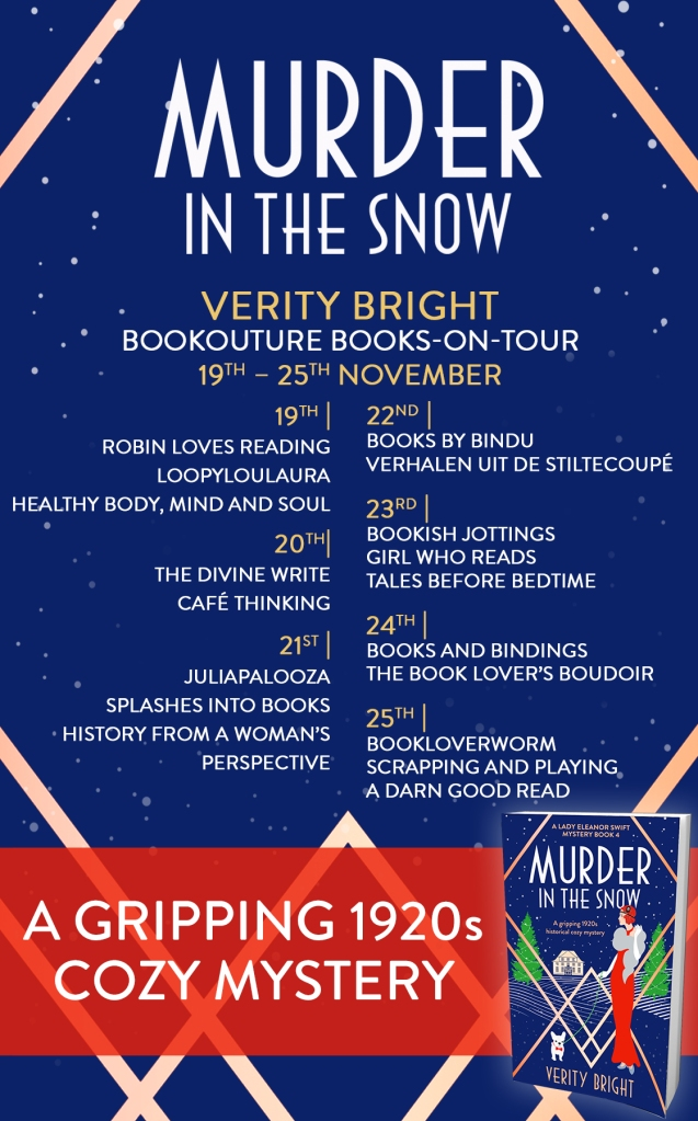 Murder in the snow front cover