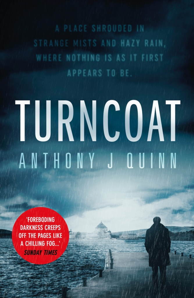 cover of Turncoat by Anthony J Quinn