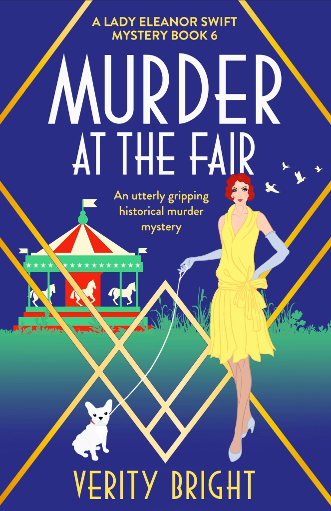 Murder at the Fair by Verity Bright - book cover