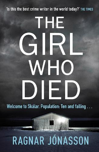 Cover of The Girl Who Died by Ragnar Jónasson