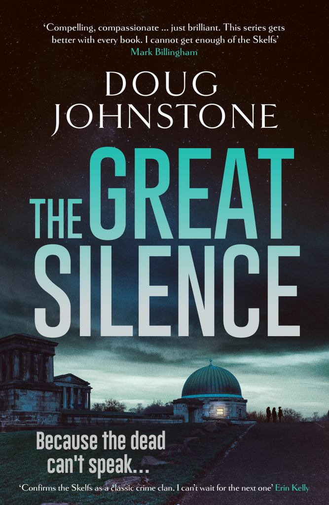 Cover of the Great Silence by Doug Johnstone