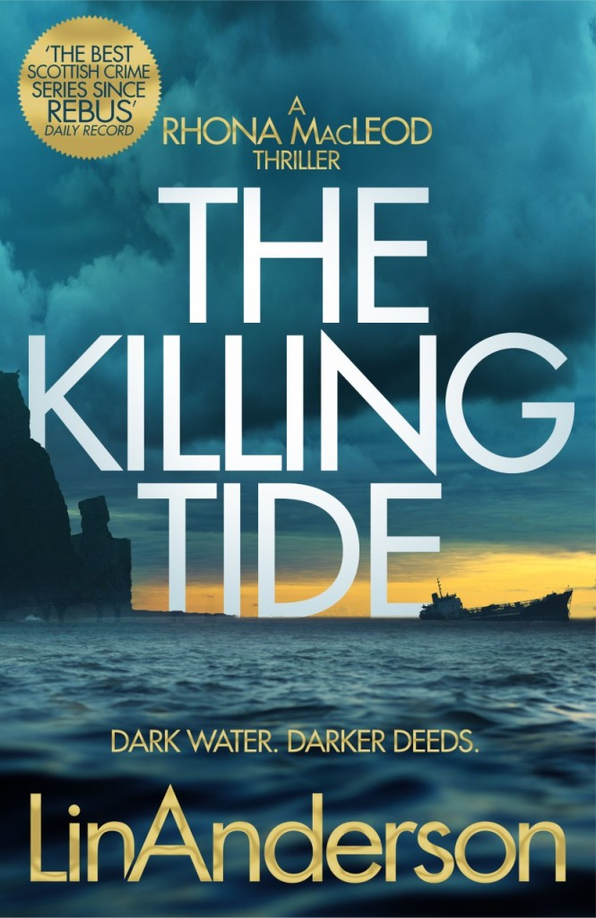 Cover of The Killing Tide by Lin Anderson