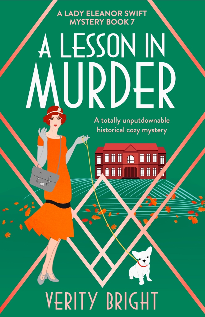 A Lesson in Murder front cover