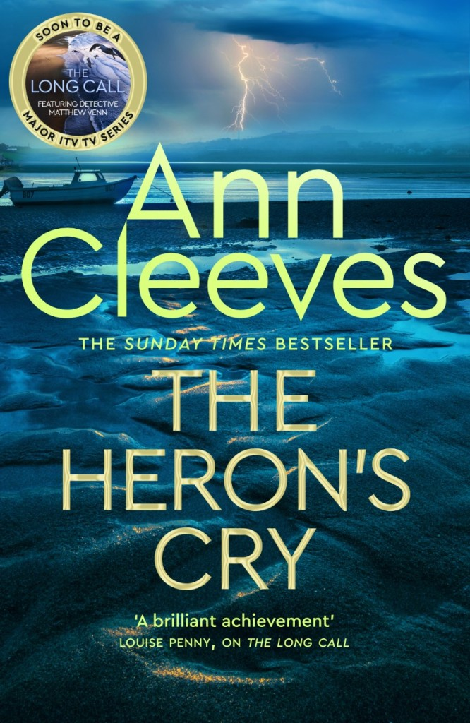 Cover of The Heron's Cry by Ann Cleeves