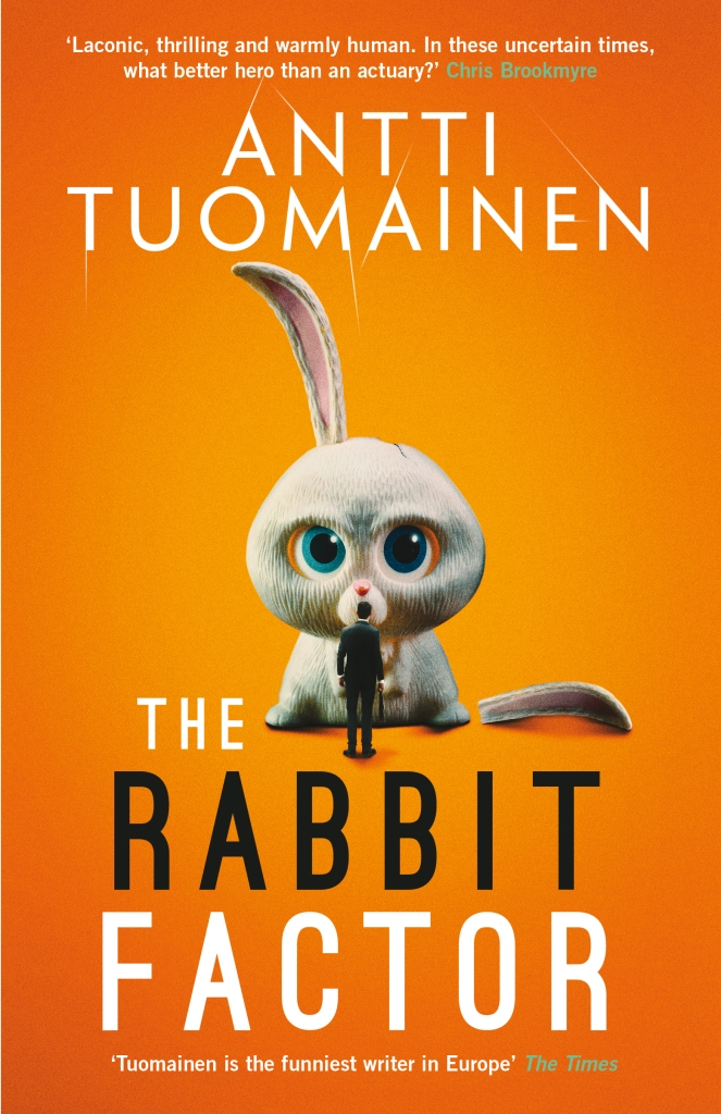 Front cover of The Rabbit Factor by Antti Tuomainen